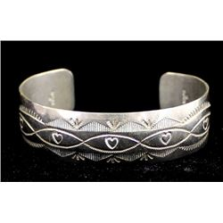 Native American Navajo Sterling Bracelet