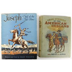 2 Hardback Books: Native American Interest