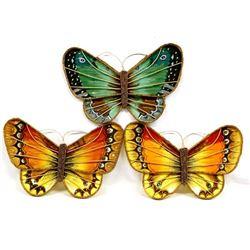 Beaded Butterfly Wall Decor by Kathy Kills Thunder