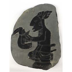 Carved Stone Mayan or Aztec ''God of Love''