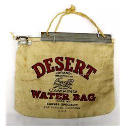 Desert Brand Canvas Camping Water Bag