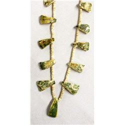 Vintage Santo Domingo Shell Heishi Bead Necklace