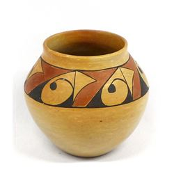Vintage Hopi Pottery Jar by Susie Youvella