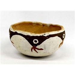 Early Native American Isleta Pottery Bowl