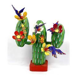 Mexican Oaxacan Cactus Alebrije, Feliano Santiago