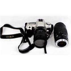 Minolta Maxxum HTsi Plus 35mm Camera & Accessories