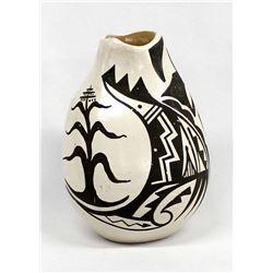 Native American Jemez Pottery Jar by Cajero