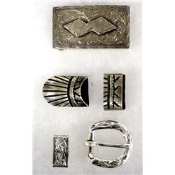 Belt Buckles and Tips