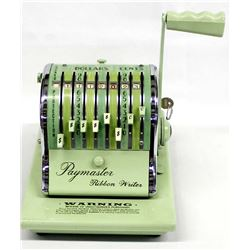 Vintage Paymaster Check Writing System