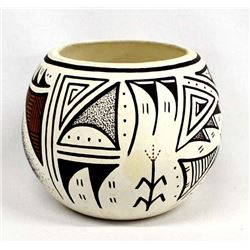Native American Isleta Pottery Jar