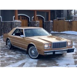 FRIDAY NO RESERVE 1982 CHRYSLER CORDOBA 27340 ACTUAL MILES MINT TIME CAPSULE