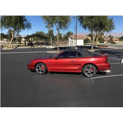 NO RESERVE 1995 FORD MUSTANG GT CONVERTIBLE