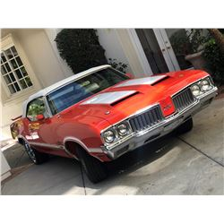 SATURDAY FEATURE 2:00 PM 1970 OLDSMOBILE 442 W30