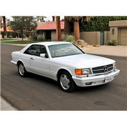 1991 MERCEDES BENZ 560 COUPE