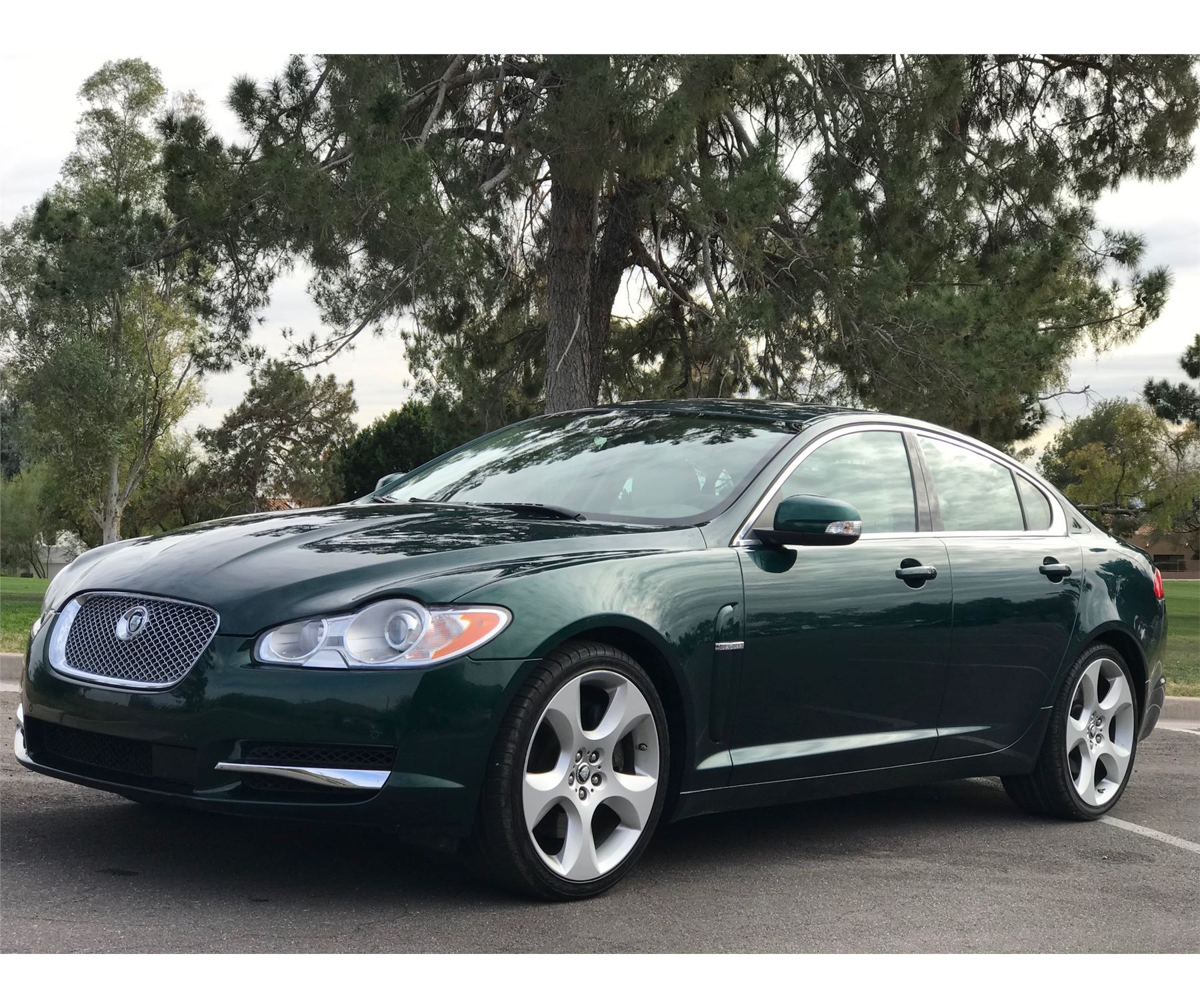 2009 JAGUAR XF SUPERCHARGED - The Electric Garage