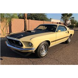 1969 FORD MUSTANG MACH 1 R CODE 428 SHAKER FASTBACK