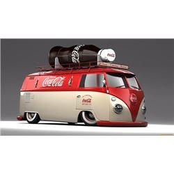 SATURDAY FEATURE 1964 VW PANEL COKE BUS CRAZY CUSTOM!