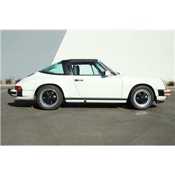 1989 PORSCHE 911 TARGA