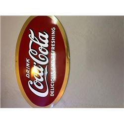 NO RESERVE VINTAGE COCA COLA SIGN