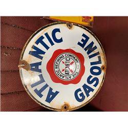 NO RESERVE ORIGINAL ATLANTIC GAS METAL SIGN VERY RARE