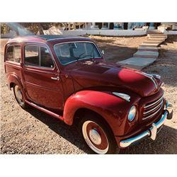 1953 FIAT TOPOLINO BELVEDERE STATIONCAR