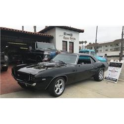 1969 CHEVROLET CAMARO RS/SS PRO TOURING RESTO MOD