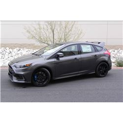 2016 FORD FOCUS RS HATCHBACK ONE OF ONE