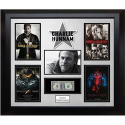 Charlie Hunnam Signed Dollar Collage