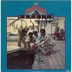 "Four Tops Band Signed ""Catfish Album"""