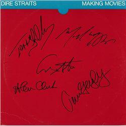 "Dire Straits Signed ""Making Movies Album"""