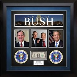 United States Federal Reserve Note Signed by George H.W. Bush and George W. Bush