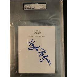 PSA/DNA Hugh Hefner Signed Playboy Mansion West Stationary