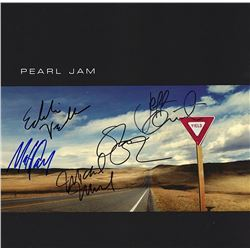 """Pearl Jam Band Signed """"Yield"""" Album"""