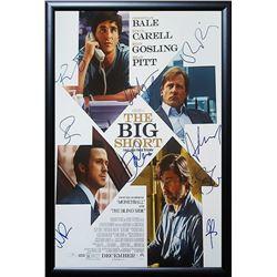 Big Short Signed Movie Poster