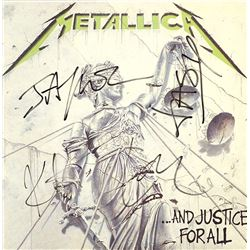 """Metalllica """"And Justice For All"""" Signed Album"""