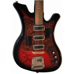 Janis Joplin Signed Guitar