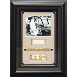 Howard Hughes Framed Signature Collage