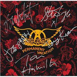 "Aerosmith ""Permanent Vacation"" Signed Album"