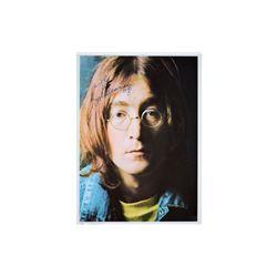 John Lennon Signed Photo