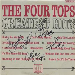 Four Tops Greatest Hits Album