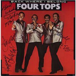 The Four Tops' Back Where You Belong Album
