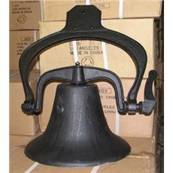 ANTIQUE NEW LARGE #2 CAST IRON FARM DINNER BELL / $229.00