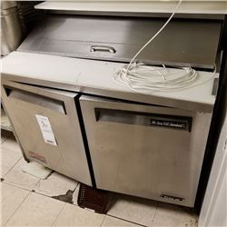 "2 DOOR TURBO AIR SALAD STATION/ 48"" X 30"" X 42"" HEIGHT/CURRENT COMP $2700.00"