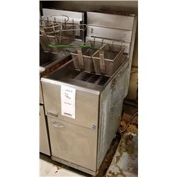 "PITCO COMMERCIAL DEEP FRYER/ 15"" X 30"" X 46"" HEIGHT/CURRENT COMP APPROX $1,800"