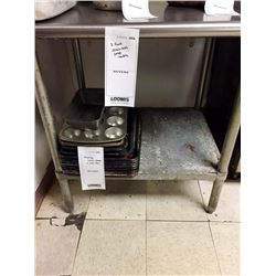 """3' STAINLESS STEEL PREP TABLE/36"""" WIDE X 30"""" DEEP X 36"""" HEIGHT"""