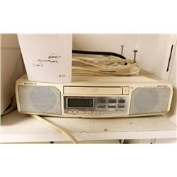 SONY BRAND UNDER THE COUNTER RADIO