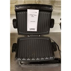 BUNDLE LOT: GEORGE FOREMAN GRILL, NESCO ROASTER