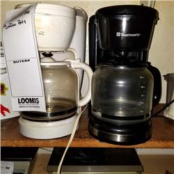 2 COFFEE POTS