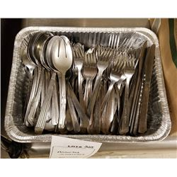 ASSORTED SILVERWARE LOT APPROX 436 PC