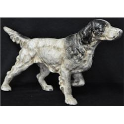 LARGE CAST IRON POINTER DOG/  $79.00